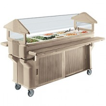 6' Stand-Up - Closed Base Six Star™ Food Bar