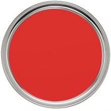 """14"""" Tray with Red PVC Lined Stainless Steel Tray"""