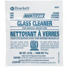 Beer/Clean® Bar-Sink Glass Cleaner for Manual - 100 Pouches