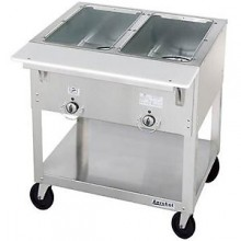 2 Opening Aerohot® Portable Electric Hot Food Unit with Exposed Elements