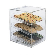 "10"" W x 12"" D x 13 1/2"" H Cookie Display Case"