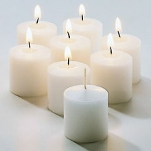 "1 7/16"" W x 1 7/16"" H Wax Candle - 72 Pack"