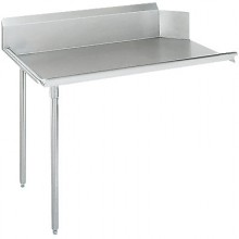 "18 Gauge Clean Side 26"" Straight Table"