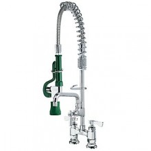 """4"""" Center Wall Mount Space Saver Pre-Rinse Units"""