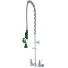 "Wall Mount 8"" Centers Universal Pre-Rinse Sprayer"