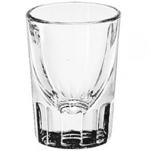 2 Oz. Fluted Whiskey Shot Glass Dozen