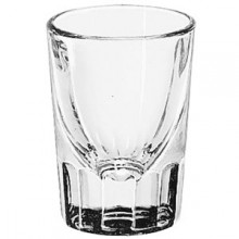 1 1/2 Oz. Fluted Whiskey Shot Glass Dozen