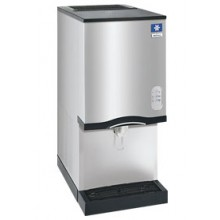 "16 1/2""  Wide 325 lbs. Production 12 lbs. Bin Capacity Countertop Nugget Ice Make/Dispenser"