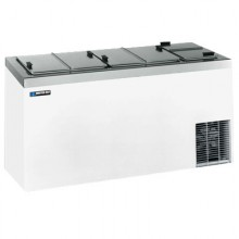 "66 5/8"" W 25 Tub Dipping Cabinet - Stainless Steel"
