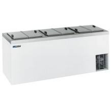 "84 5/8"" W 19 Tub Dipping Cabinet - White"