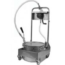 50 lb. Capacity Filter Machine/Discard Trolley