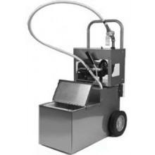105 lb. Capacity Filter Machine/Discard Trolley with Drain Valve