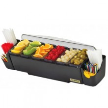 Six 1 Pint Tray Dome® Condiment Center
