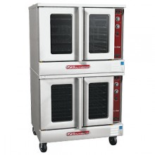 Double Bronze Star Gas Convection Oven
