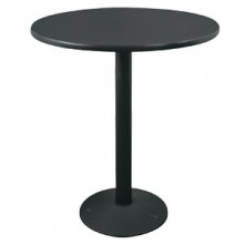 """24"""" Round Complete Double-Sided Ringed Standard Height Round Table"""