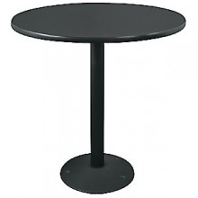 """30"""" Round Complete Double-Sided Ringed Standard Height Round Table"""