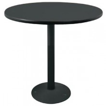 """36"""" Round Complete Double-Sided Ringed Standard Height Round Table"""