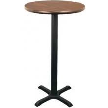 "30"" Round Complete Double-Sided Stand-Up Table"
