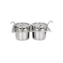 (2) 4 1/4 Quart Soup Set