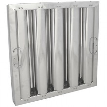 """16"""" H x 16"""" W Stainless Steel Baffle Grease Filter"""