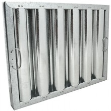 """16"""" H x 20"""" W Galvanized Baffle Grease Filter"""