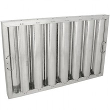"""16"""" H x 25"""" W Galvanized Baffle Grease Filter"""