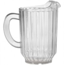 60 Oz. Deluxe Pitcher - Clear