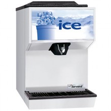 """15""""  Wide 45 lbs. Capacity Countertop Ice Dispensers"""