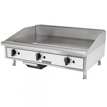"""36"""" W Thermostatic Control Gas Griddle"""