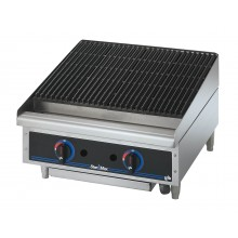 "24"" W Star-Max™ Heavy-Duty Lava Rock Charbroiler"