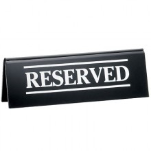 "2"" x 6"" Reserved Table Tent"