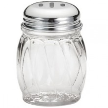 Lexan® Cheese/Hot Pepper Shaker - Slotted Lid