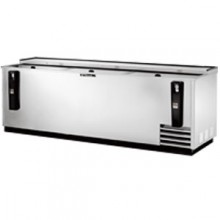 "95"" Wide Stainless Steel Exterior Bottle Cooler"