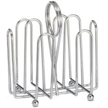 Chrome Jelly Packet Rack