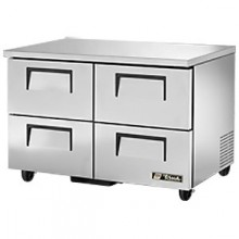 """48 3/8"""" W 12 Cubic Ft Four Drawer Undercounter Freezer"""