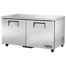 "60 3/8"" W 15.5 Cubic Ft Two Door Undercounter Freezer"