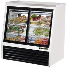 "48 1/2"" W 16 Cubic Ft Four Door Standard Height - Self Serve"