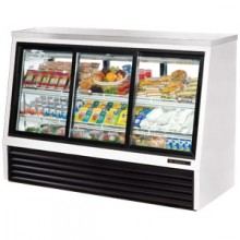 "72 1/2"" W 24 Cubic Ft Four Door Standard Height - Self Serve"