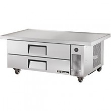 "60"" W Two Drawer Six Pan Extended Top Refrigerated Chef Base"