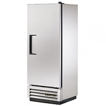12 Cubic Ft One Swing Door Refrigerator - Stainless Steel Doors and Front - Aluminum Ends