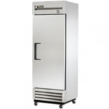19 Cubic Ft One Swing Door Refrigerator - Stainless Steel Doors and Front - Aluminum Ends