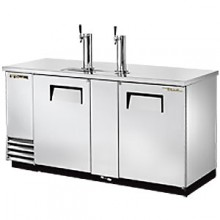 "69"" Wide Direct Draw Draft Beer Dispenser - Stainless Steel"