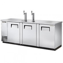 """90 3/8"""" Wide Direct Draw Draft Beer Dispenser - Stainless Steel"""