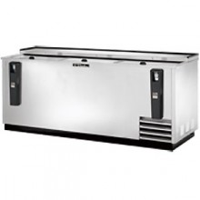 "80 1/2"" Stainless Steel Exterior Bottle Cooler"