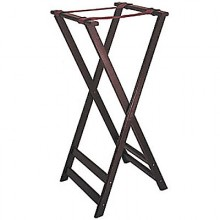 "38"" Tall Height Deluxe Wood Tray Stand"