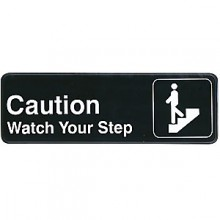 Watch Your Step Contemporary Symbol Sign