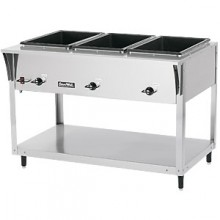 3 Opening ServeWell® Standard Hot Food Table