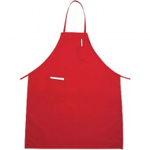 "Winco Industries 31"" x 26"" Apron – Red"