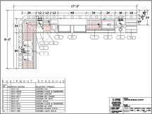 AutoCad Bar Layout