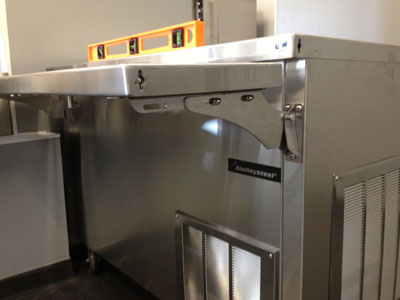 Commercial Restaurant Equipment Leveling Guide - Step Two